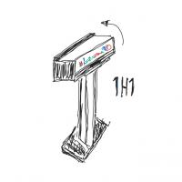 Geschützt: 1H1 – Mulifunktions Vitrinen Box mit Standfuß oder Wandhalterung